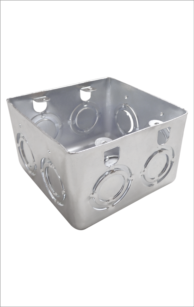 Caja Metálica Empalme Eléctrico 10×10